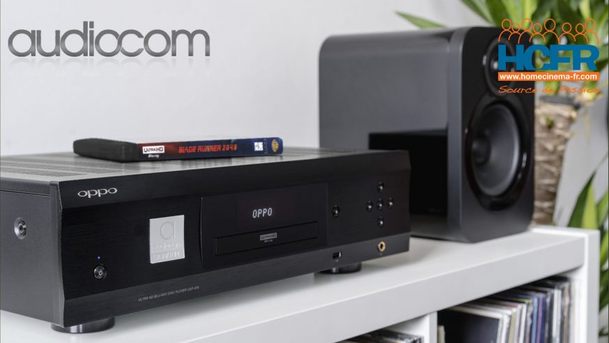 Test HCFR de l'OPPO UDP-205 Signature Audiocom, lecteur audio vidéo universel UltraHD