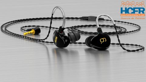 Test HCFR des Earsonics S-EM6 v2, écouteurs intra-auriculaires