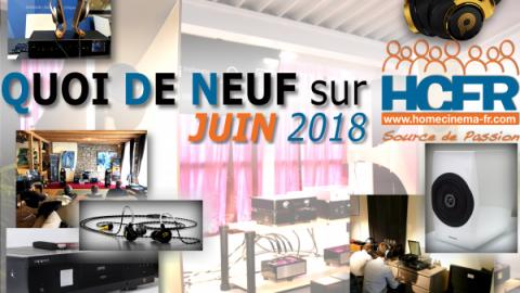 Votre QDN, Quoi de Neuf sur HCFR, Juin 2018 est disponible
