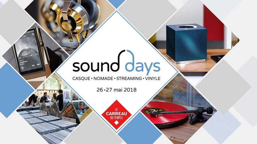 Sound Days, Paris, – J0, installations –