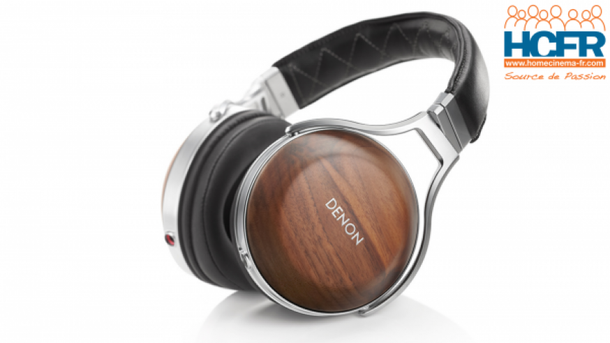 Test HCFR du Denon AH-D7200, casque audio