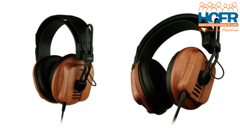 Test HCFR du Fostex T60RP, casque audio