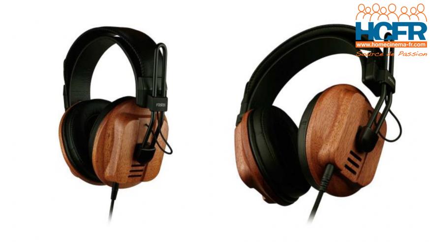 Test HCFR Fostex T60RP, casque audio