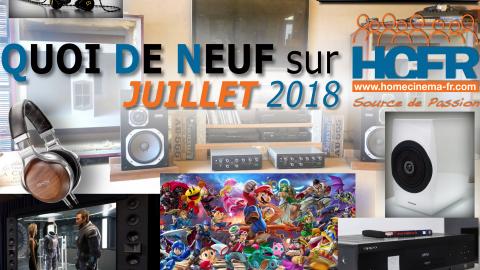 Votre QDN, Quoi de Neuf sur HCFR, Juillet 2018 est disponible