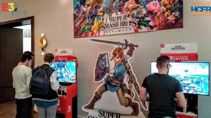 HCFR video : Bienvenue à l'Événement Nintendo Paris Post-E3 2018
