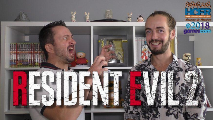 [VIDEO] GC2018 : Resident Evil 2 Remake – Notre Avis sur HCFR