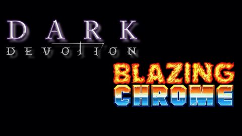 [VIDEO] GC2018 : Dark Devotion et Blazing Chrome – Les jeux rétro du stand Dotemu