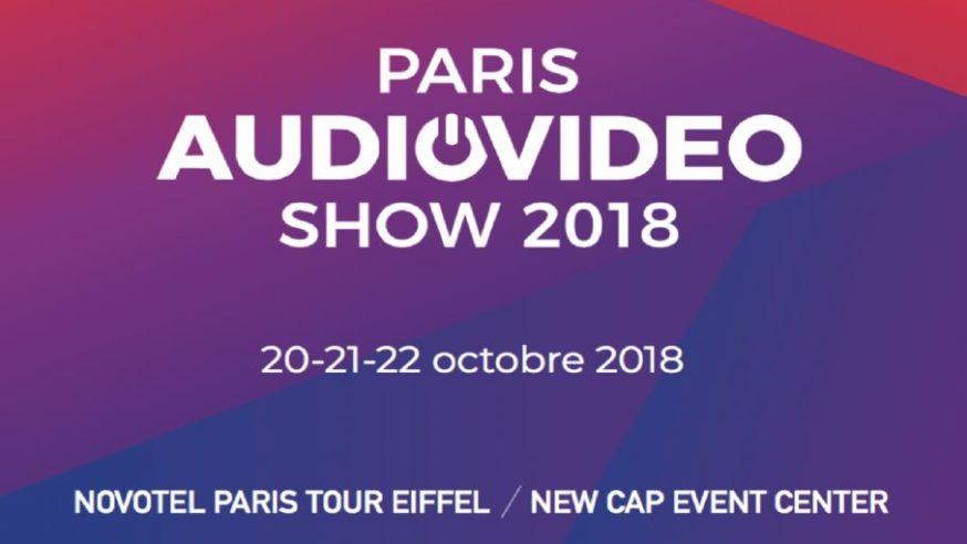 Paris Audio Video Show 2018 – c'est ce WE