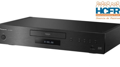 Test HCFR Panasonic DP-UB9000, lecteur Bluray UHD
