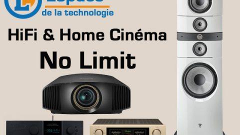 Salon Hifi et Home Cinéma No Limit, chez L'Espace de la Technologie à Amboise, les 30 novembre et 1er décembre