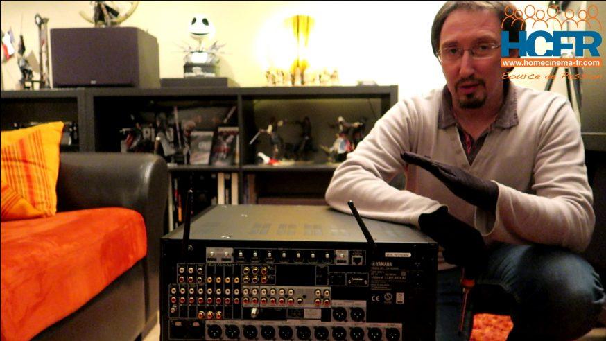 Video unboxing du Yamaha CX-A5200, processeur-préampli HC 11.2 reçu pour test HCFR