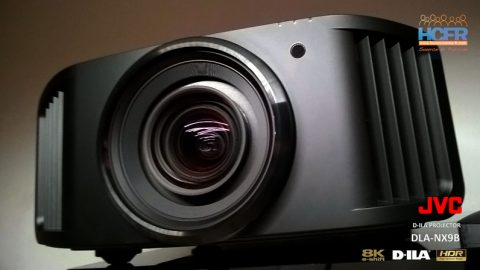 Test HCFR du JVC DLA-NX9, projecteur 4K natif, e-shift 8K