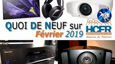 Votre QDN, Quoi de Neuf sur HCFR, Février 2019 est disponible