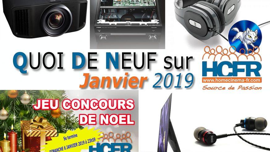 Votre QDN, Quoi de Neuf sur HCFR, Janvier 2019 est disponible