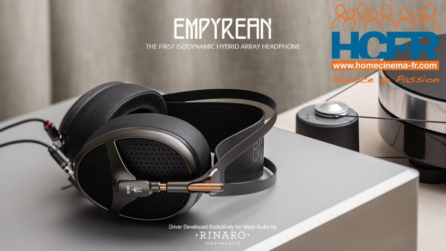 Test HCFR Meze Audio Empyrean, casque audio