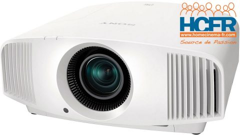 Test HCFR Sony VPL-VW270ES, projecteur 4K