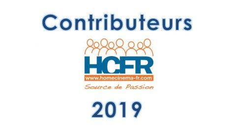 Contributeur HCFR – les personnes distinguées au titre de l'année 2019