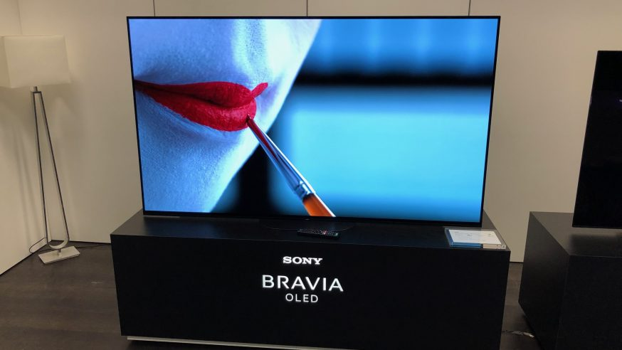 HCFR reportage : Sony présentation à la Presse des nouveaux produits gamme 2019
