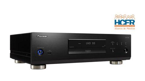 Test HCFR du Pioneer UDP-LX800, lecteur BRD UHD
