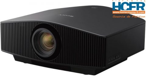 Video unboxing du Sony VPL-VW870ES, projecteur laser 4K Natif reçu pour test HCFR