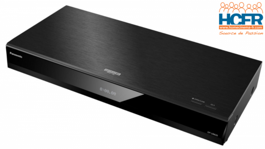 Video HCFR : Panasonic DP-UB820, lecteur Bluray UHD – Unboxing & intérieur