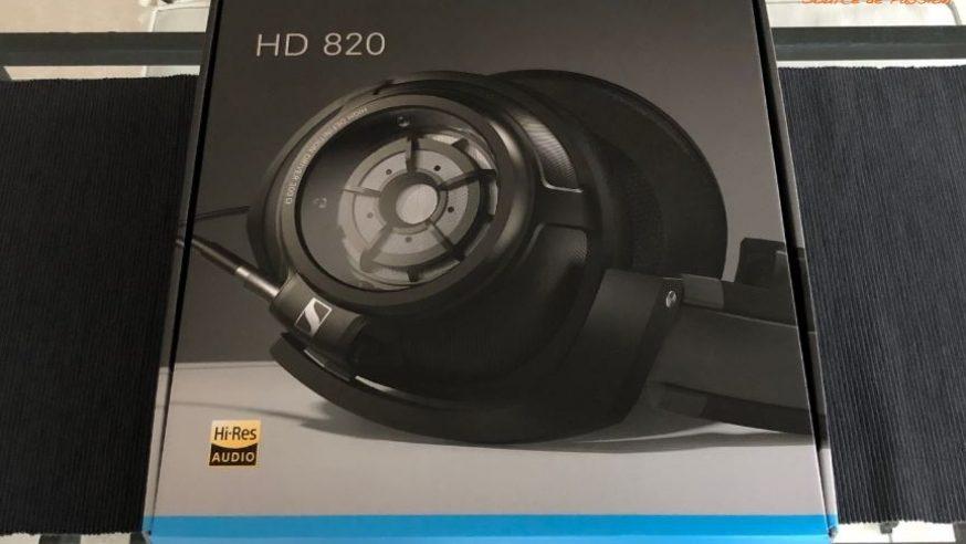Video unboxing du Sennheiser HD820, casque audio testé HCFR