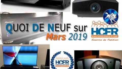Votre QDN, Quoi de Neuf sur HCFR, Mars 2019 est disponible