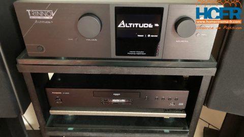 Trinnov Altitude 16, pré-ampli_processeur audio 16 canaux – reçu pour test HCFR