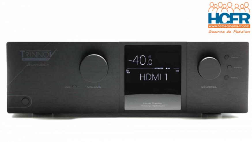Test HCFR du Trinnov Altitude 16, pré-ampli_processeur audio 16 canaux