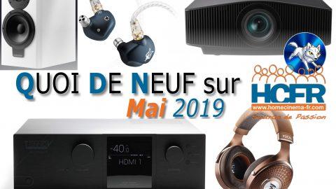 Votre QDN, Quoi de Neuf sur HCFR, Mai 2019 est disponible