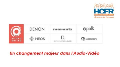 News HCFR : SoundUnited (Denon_Marantz) en passe d'acquérir B&W