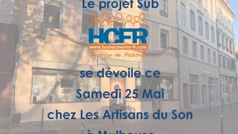 Le projet LeSUB HCFR s'expose dans une superbe réalisation