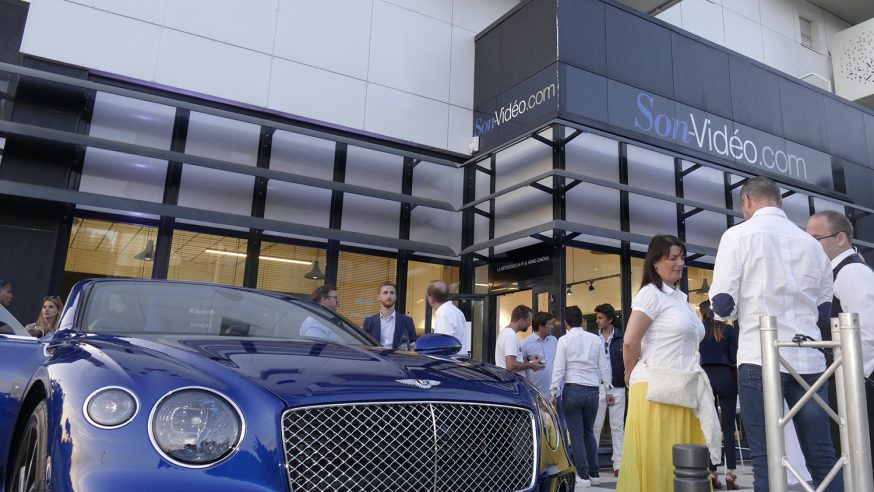 Reportage HCFR : Son-Video, inauguration du magasin d'Antibes