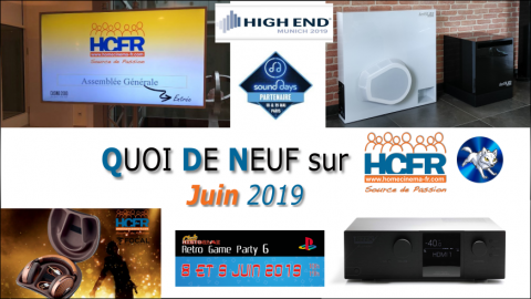 Votre QDN, Quoi de Neuf sur HCFR, Juin 2019 est disponible