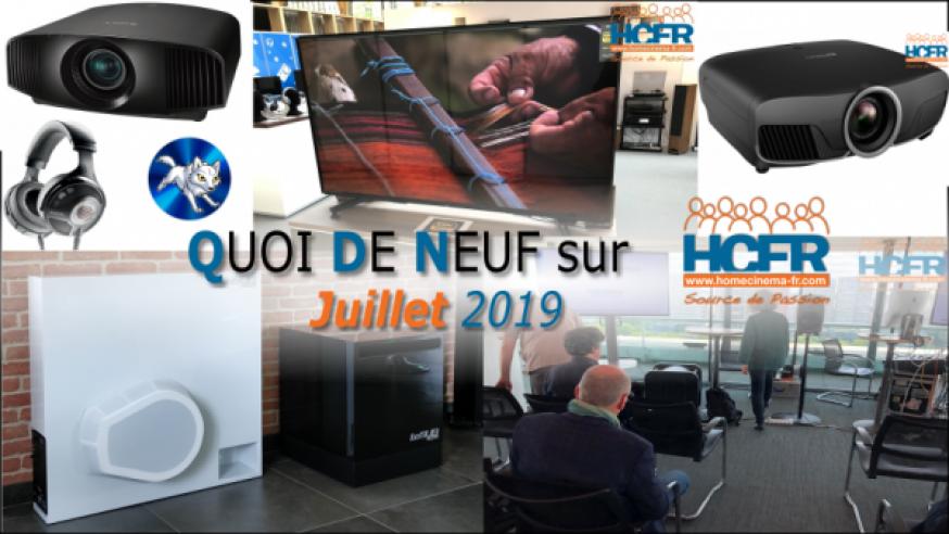 Votre QDN, Quoi de Neuf sur HCFR, Juillet 2019 est disponible