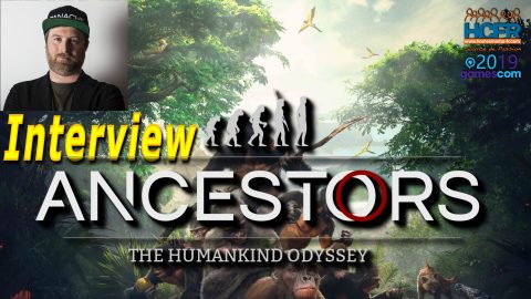 [VIDEO] #GC2019 : Ancestors the Humankind Odyssey – Interview de Patrice Désilets, Co-fondateur de Panache Digital Games