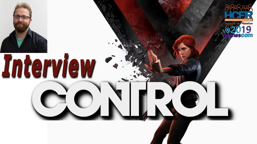 [VIDEO] #GC2019: Control – Interview VOST de Mikael Kasurinen, Game Director chez Remedy