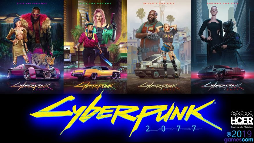 [VIDEO] #GC2019: Retour sur Cyberpunk 2077