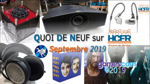 Votre QDN, Quoi de Neuf sur HCFR, Septembre 2019 est disponible