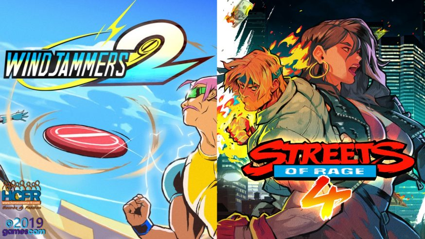 [VIDEO] #GC2019:  Interviews Streets of Rage 4 et Windjammers 2 du Stand Dotemu + Retours