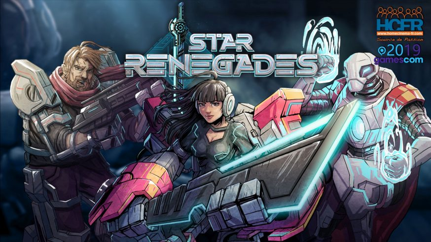 [VIDEO] #GC2019: Retour sur Star Renegades