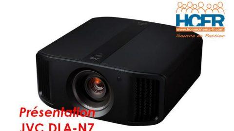 Video de présentation JVC DLA-N7, projecteur 4K, reçu pour test HCFR