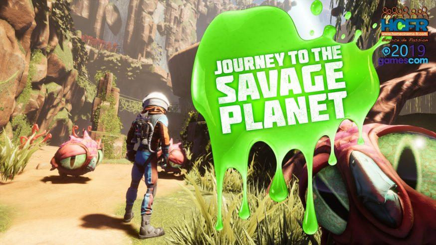 [VIDEO] #GC2019: Retour sur Journey to the Savage Planet