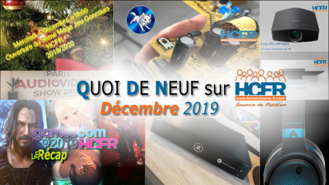 Votre QDN, Quoi de Neuf sur HCFR, Décembre 2019 est disponible