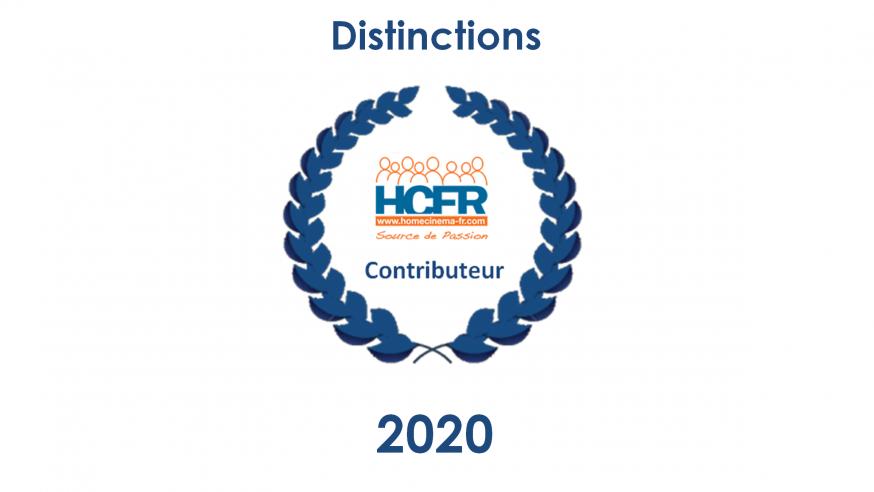 Contributeur HCFR – les personnes distinguées au titre de l'année 2020