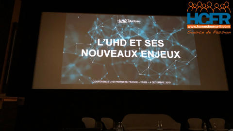 Reportage HCFR : Conférence UHD Partners France : L'UHD et ses nouveaux enjeux