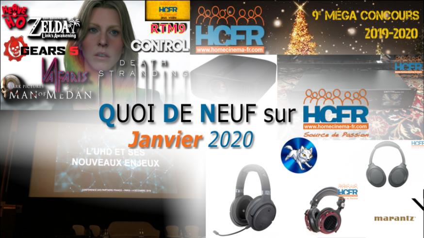 QUOI DE NEUF sur HCFR (QDN) – Janvier 2020