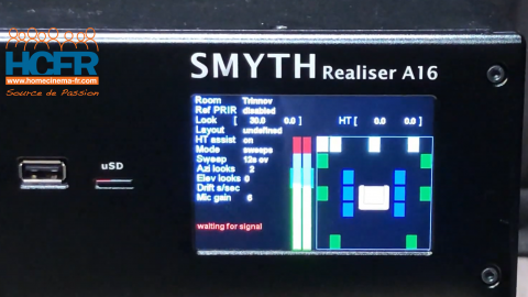 Video HCFR : Smyth Realiser A16 capture PRIR 9.1.6 en contexte Trinnov 17.4.12