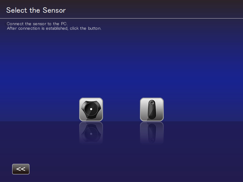 JVC Autocal - Choix sonde