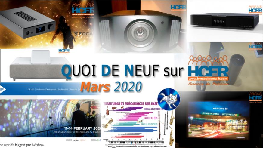 QUOI DE NEUF sur HCFR  – (QDN) – Mars 2020